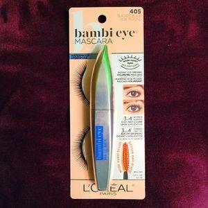 🆕️ L'Oreal bambi eye Waterproof Mascara 405 Black